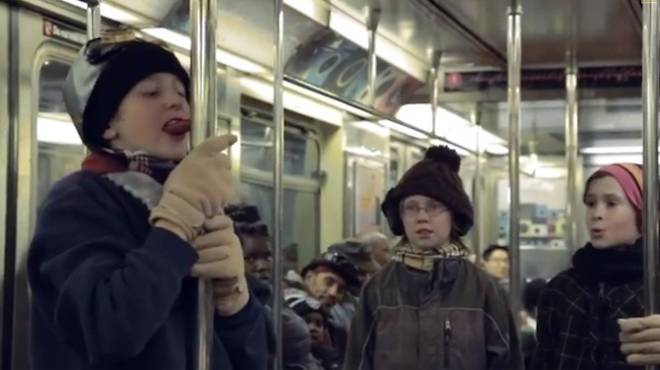 Improv Everywhere reenacts A Christmas Story
