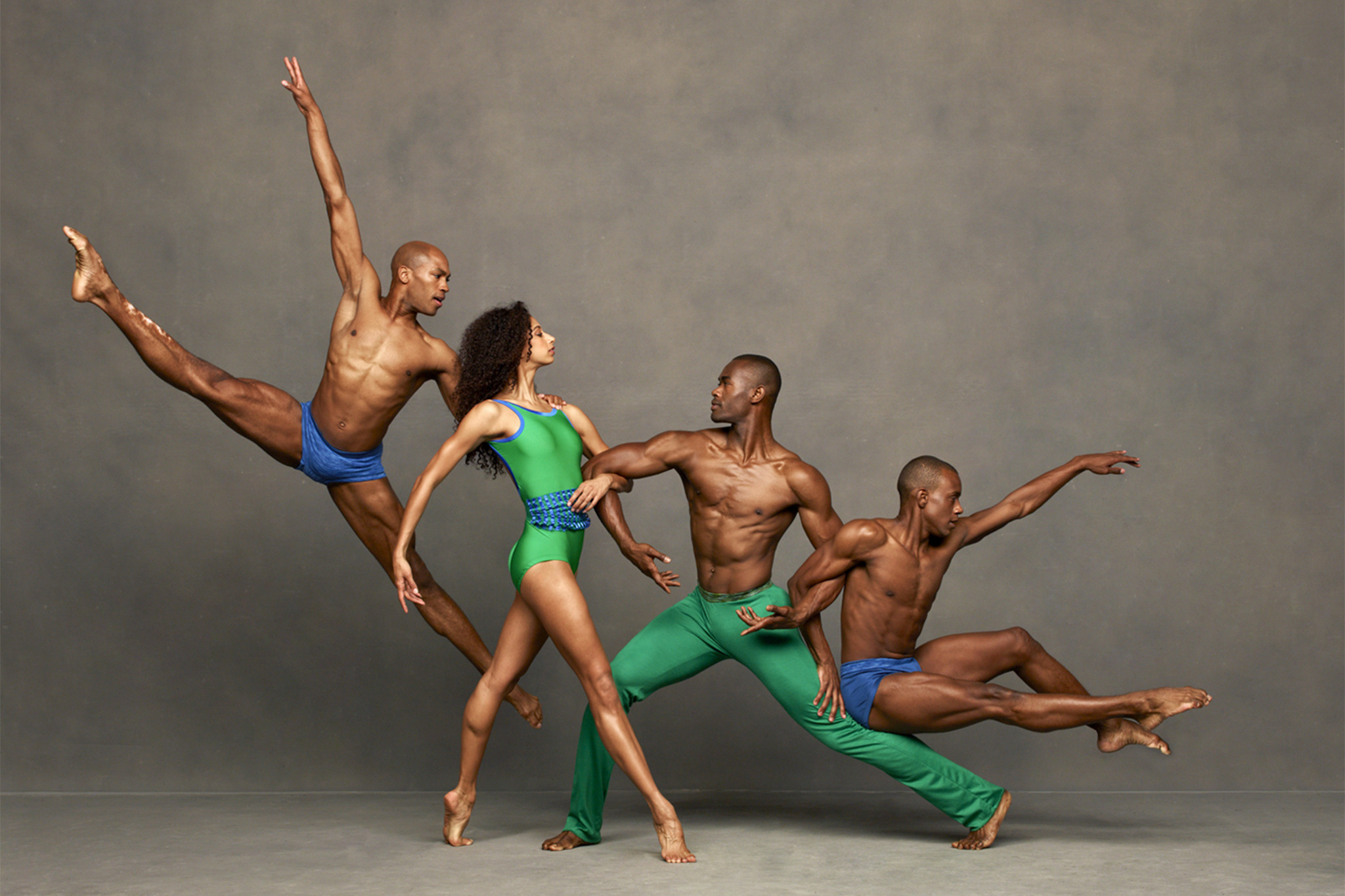 Check in with the Alvin Ailey American Dance Theater