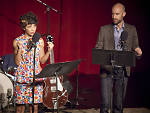 Jasika Nicole and Cecil Baldwin in Welcome to Night Vale