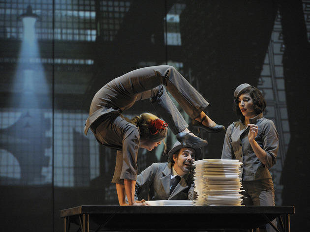 Escape dreary city life via transporting troupe Cirque Eloize