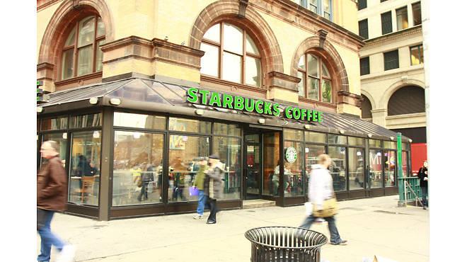 Starbucks in Astor Place