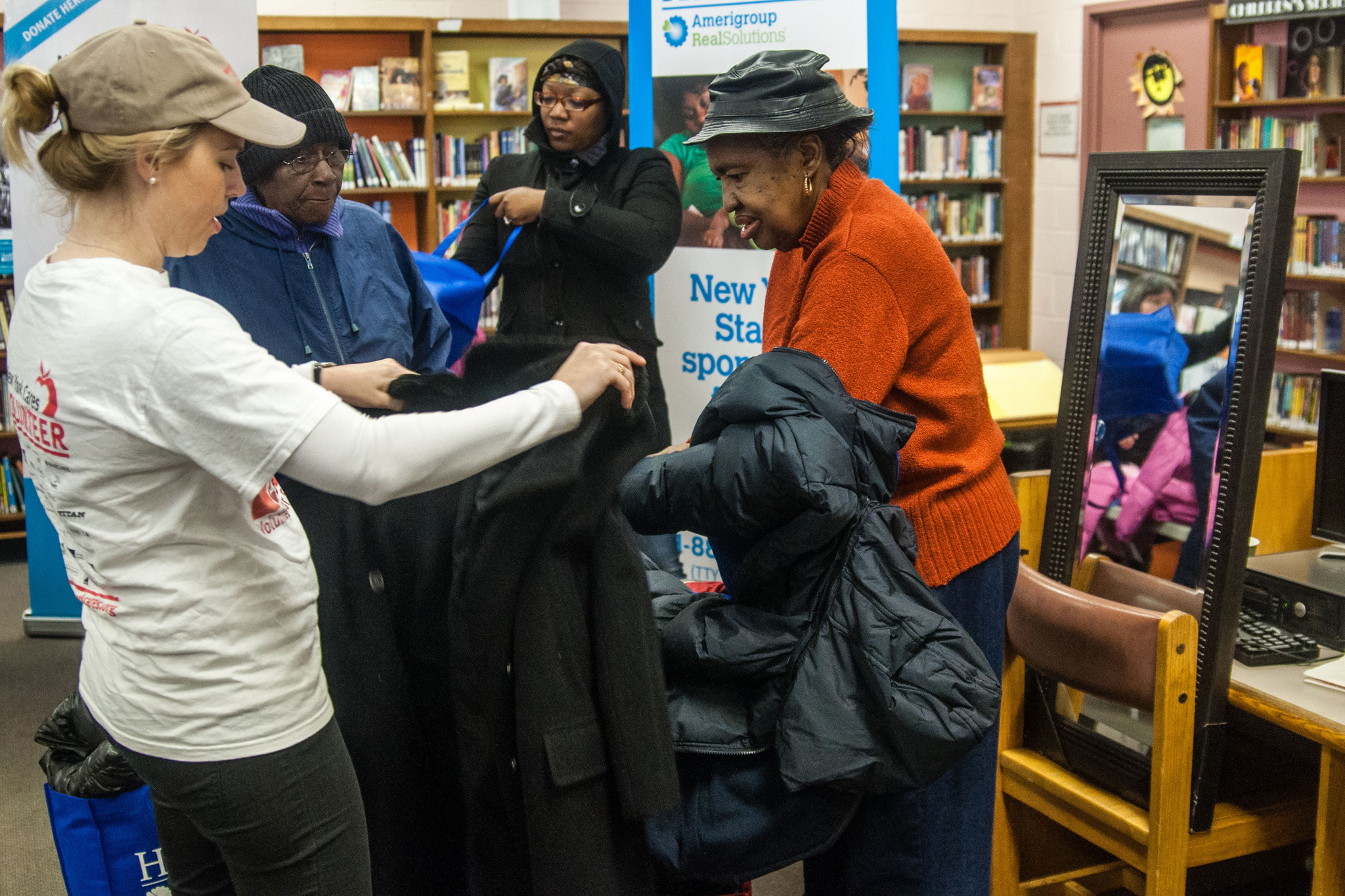 Donate your old coat to New York Cares Coat Drive