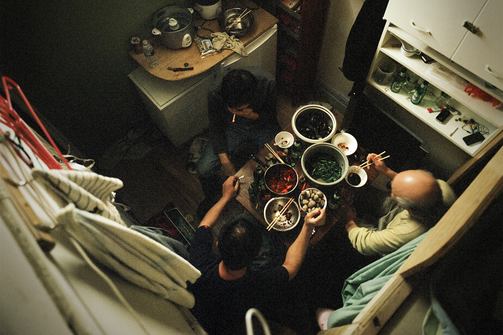 "Look inside the apartments of Canal Street at ""A Floating Population: Chinatown Photographs"""