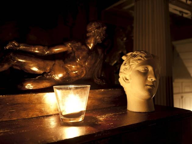 Late-night Christmas Shopping at Sir John Soane's Museum