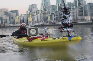 Kayaking London: Big Ben Jingle Bells