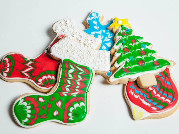 K Bakery, Handpainted Cookies