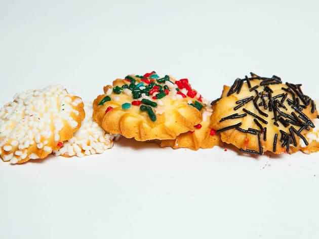 Butter Cookie Assortment, Christmas Cookie, Stolichnaya
