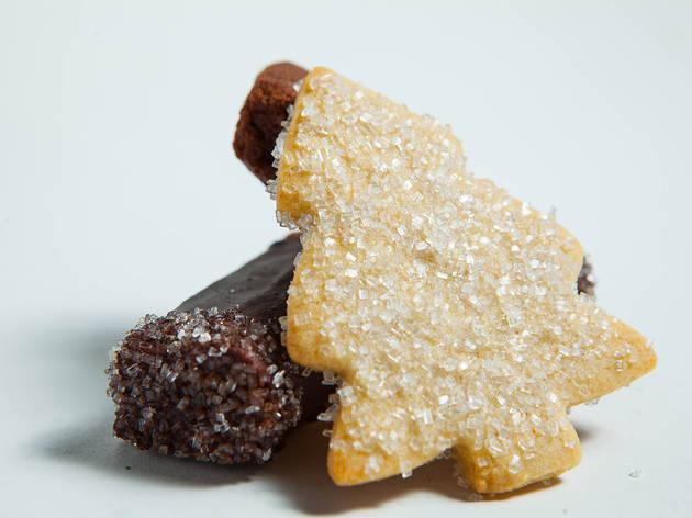 Breakaway Bakery, Christmas Cookie, Christmas Tree, Gluten Free, Mint Scout Cookies
