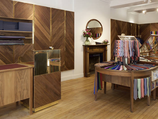 The 100 best shops in London: Drakes for ties and scarfs