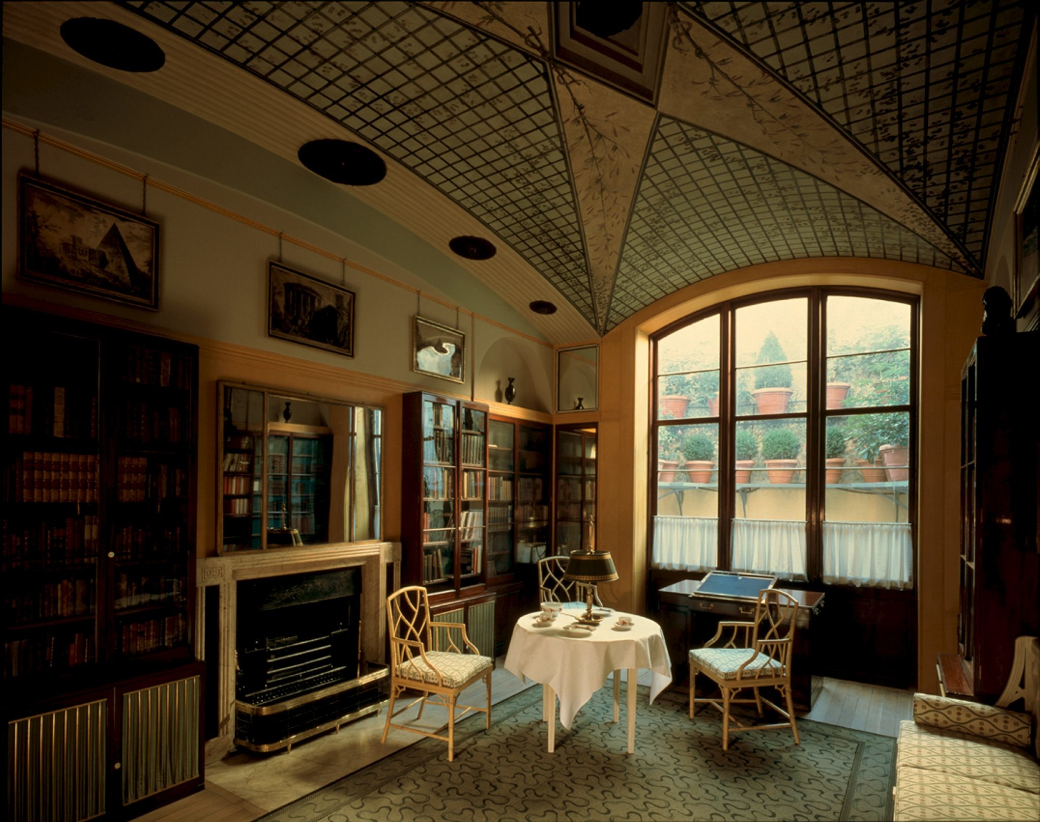 Sir John Soane's Museum,The No. 12 Breakfast Parlour, Soane Museum