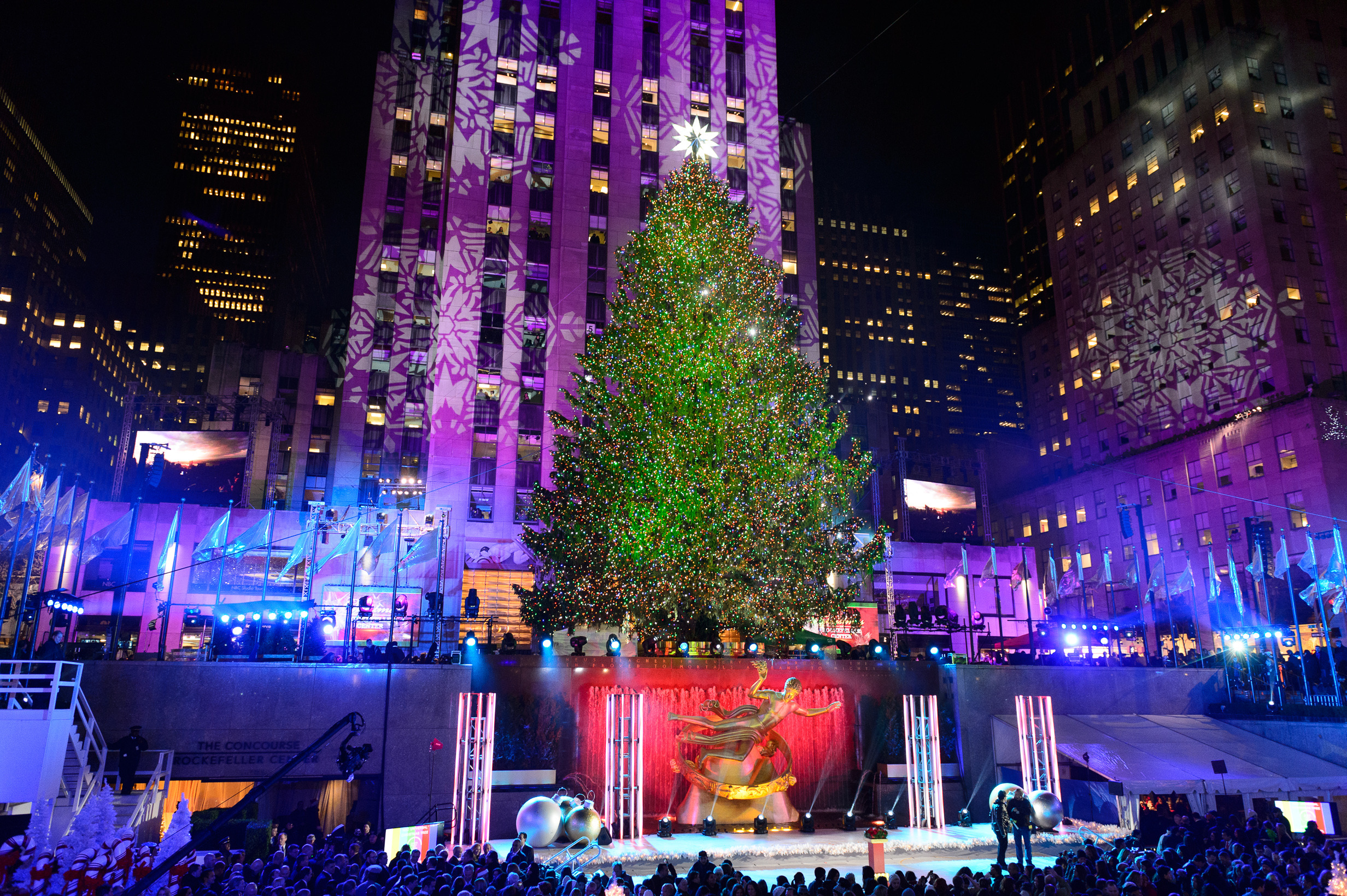 Rockefeller Center Christmas Tree 2013