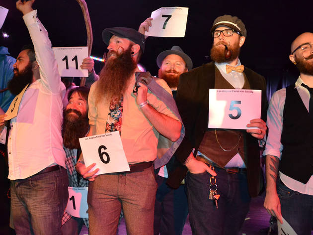 Beard and Mustache Competition (Photograph: Kate Wertheimer)