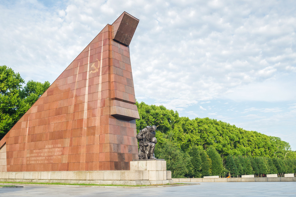 Soviet War Memorial, Treptower Park, sights and attractions, Berlin