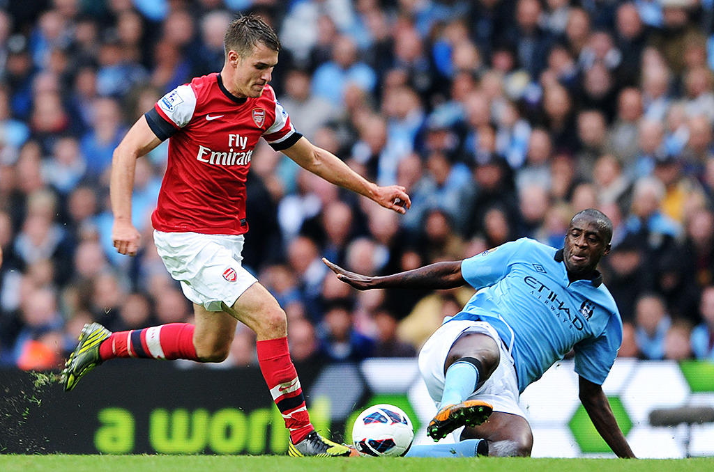Premier League Football: Manchester City v Arsenal