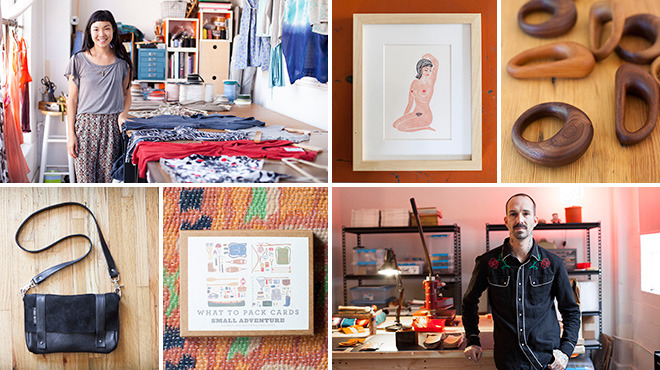 Artisans in LA show off their handmade wares