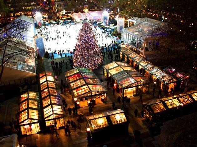 Christmas Market New York City.Christmas In New York 2019 Guide To Holiday Lights Events