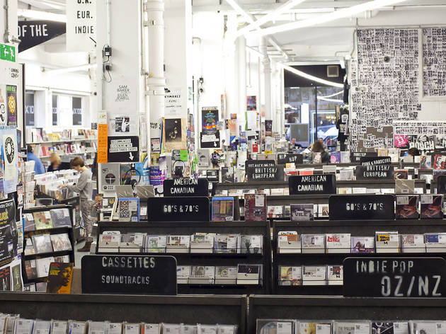 Rough Trade East Shopping In Brick Lane London