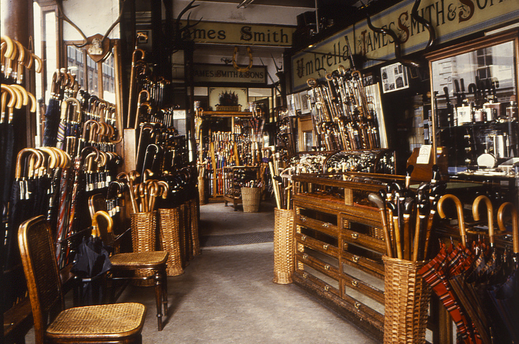 Specialist shops