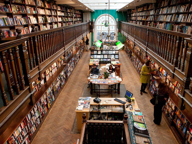 Pick up something to read at Daunt Books