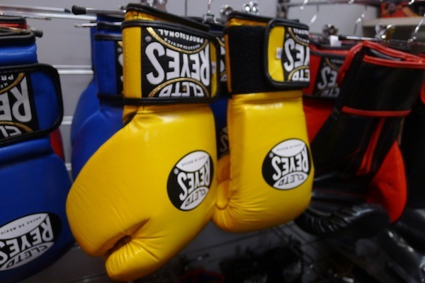 Boxing shop
