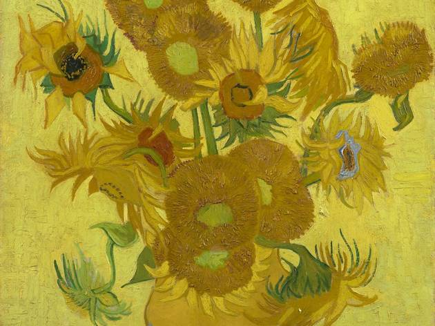 Vincent Van Gogh Sunflowers 1889 C Museum Amsterdam