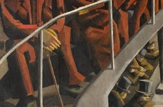 David Bomberg ( 'Ghetto Theatre', 1920 © /courtesy Ben Uri, The London Jewish Museum of Art)