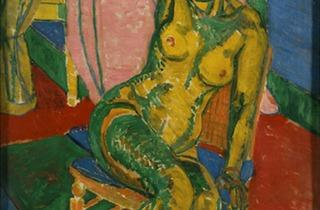 Matthew Smith ('Fitzroy Street Nude No 2', 1916, © British Council Collection)