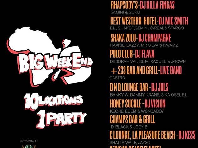The AfroBeats Big Weekend Festival