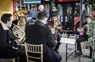 Festive band, Pimlico