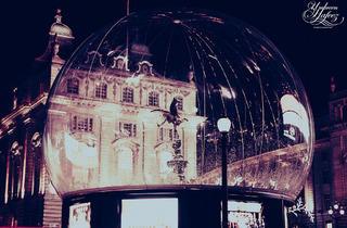 Eros Snow Globe