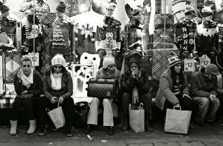 Weary shoppers
