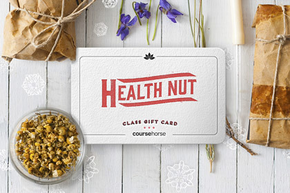 Health Nut Holiday Gift Card