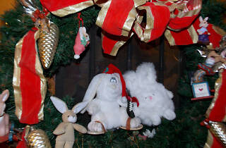 Christmas Open House at the Bunny Museum