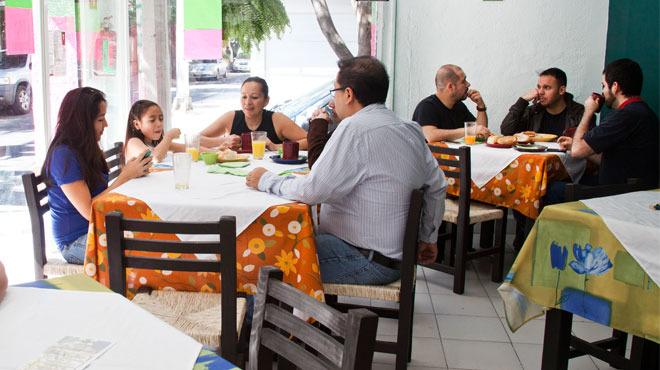 Servicio a domicilio de El Buen Chilaquil