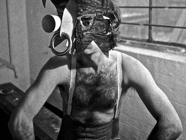 (Portrait of Derek Jarman)