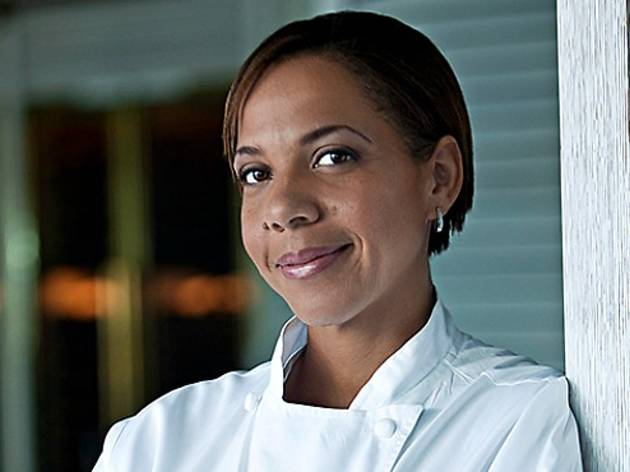 Top Chef Contender Nina Compton at Scarpetta