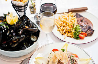 French dinner for two at Mon Petit Café