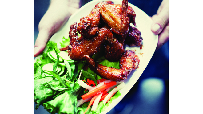 Fish-sauce chicken wings