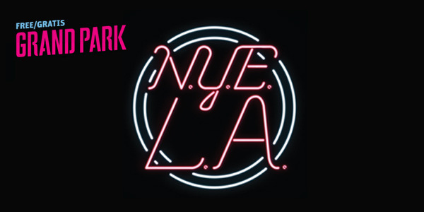 Grand Park New Year's Eve LA