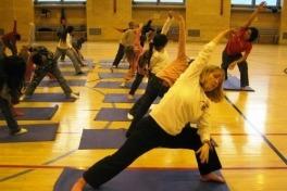 Pilates Mat class at Elite Fitness Studio