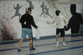 Beginners' fencing lessons at New York Fencing Academy