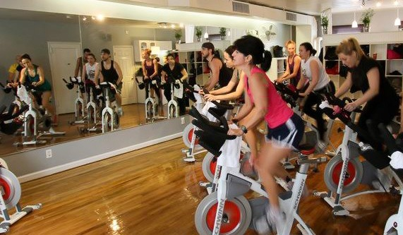 Beginners' cycle class