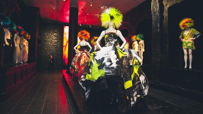 """Punk: Chaos to Couture"" exhibit at the Metropolitan Museum of Art"