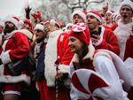 SantaCon 2013 invades NYC