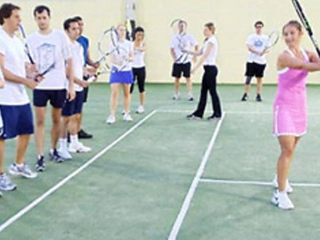 Discovery Tennis Lessons Series: Beginner level