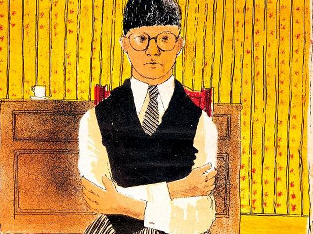 David Hockney ('Self Portrait', 1954 )