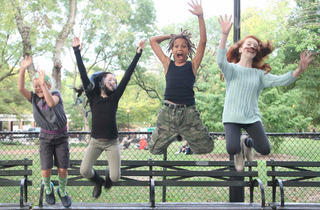 Students from East Village Dance Project in THE SHELL-SHOCKED NUT at La Mama