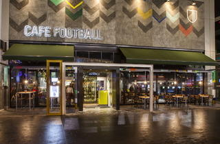 Cafe Football (© Rob Matthews)