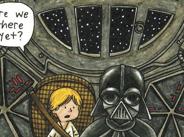 (Art: Jeffrey Brown/Chronicle Books)