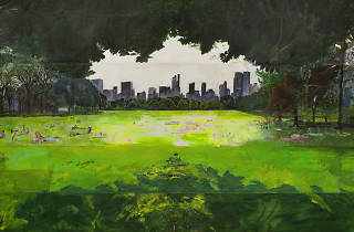 """Picturing Central Park: Paintings by Janet Ruttenberg"""